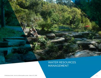 Water resources management chapter