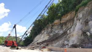 pw - crane working on Wabasha Bluffs