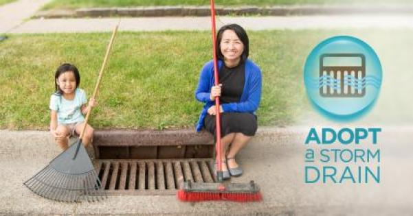 Adopt a Drain - sign up today!