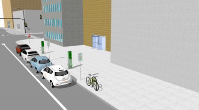 Sample image of charging hub