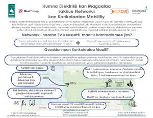 Image of summary document of Electric Vehicle Mobility Network in Oromo