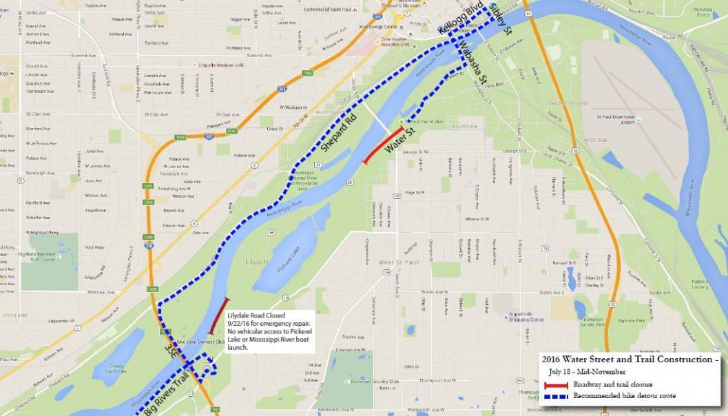 Lilydale Trail Closure