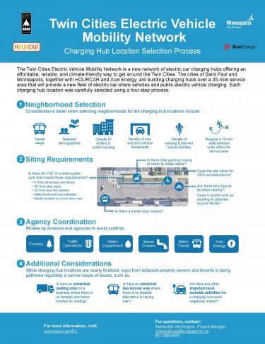 Image of Location Selection Infographic English