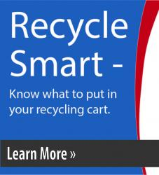 Button link to Recycle Smart Campaign Information.