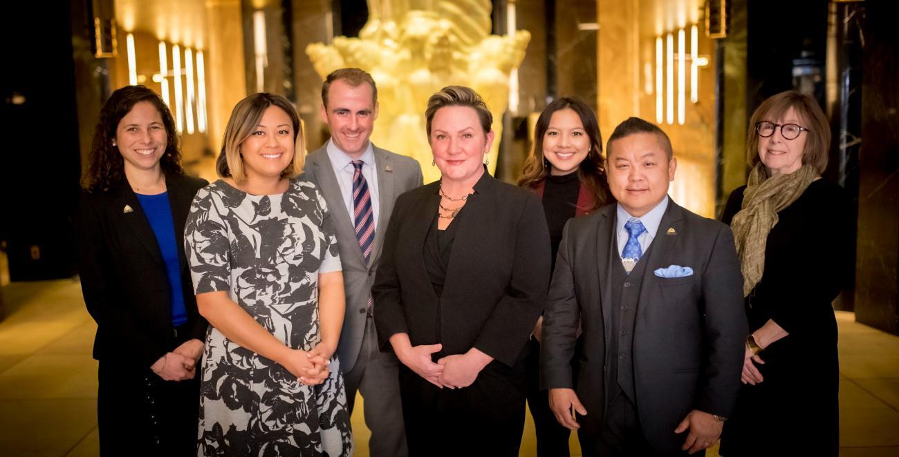 Group photo of seven saint paul city councilmembers