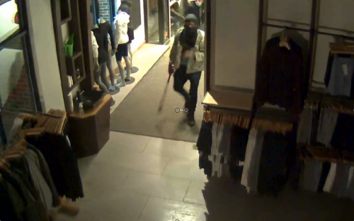 Lululemon looting suspect