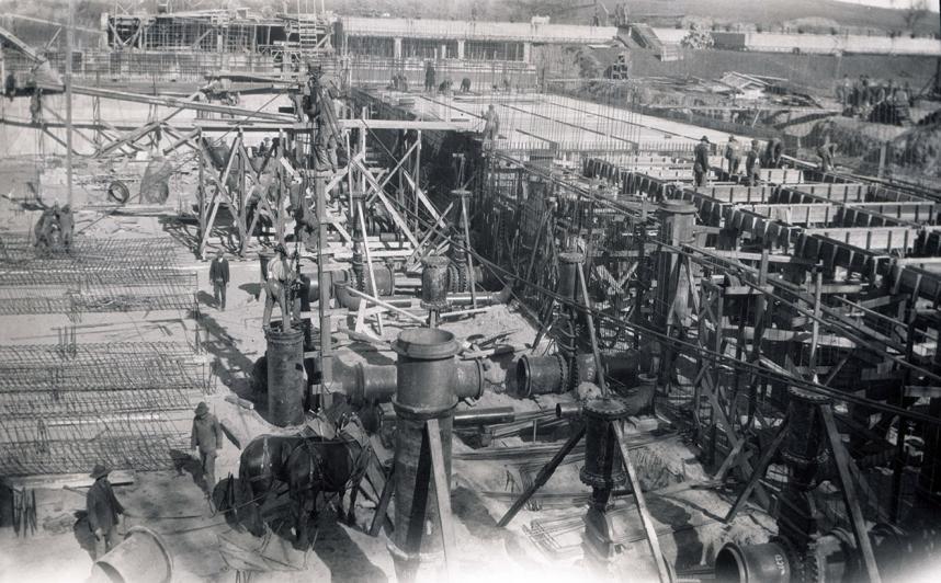 McCarrrons Treatment Plant Under Construction, circa 1921