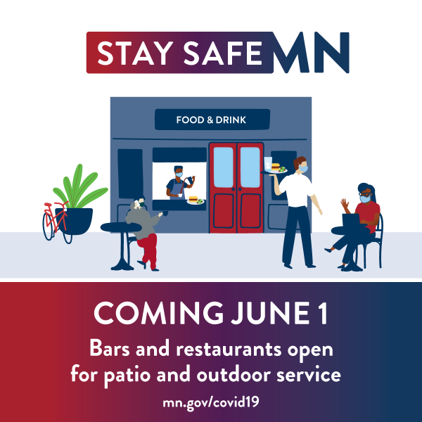 Stay Safe MN Phase II starts on June 1