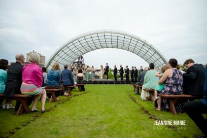 Raspberry Island Wedding Ceremony